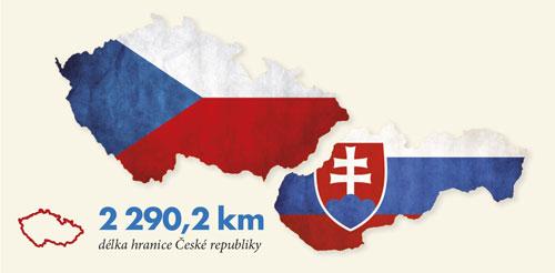Hranice České republiky.