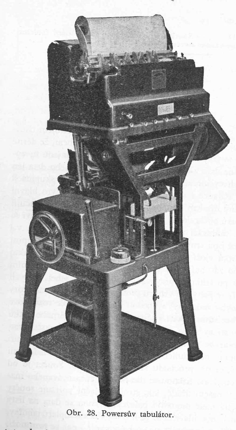 Obr. 28. Powersův tabulátor