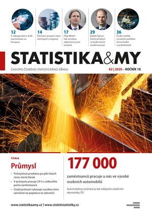 titulní strana časopisu Statistika&My 02/2020