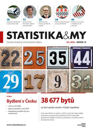 titulní strana časopisu Statistika&My 04/2020