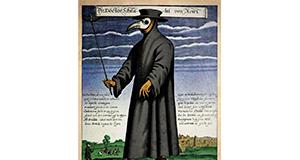 Středověký doktor vmasce se zobanem_náhled