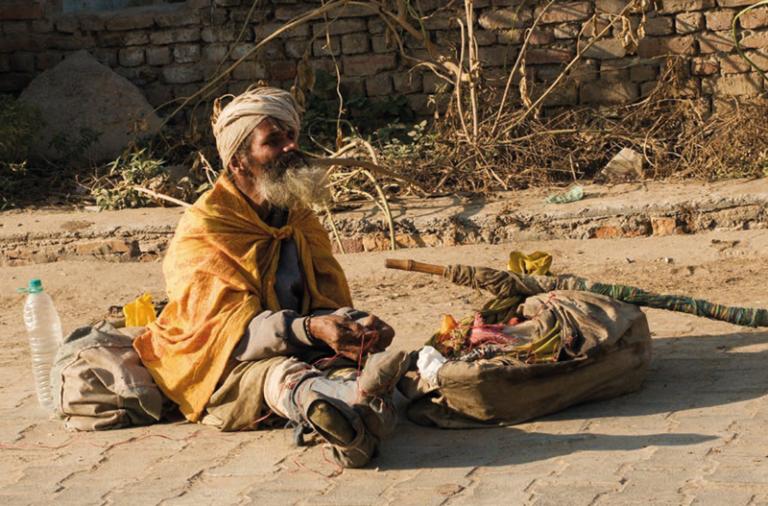 Svět na cestě z chudoby