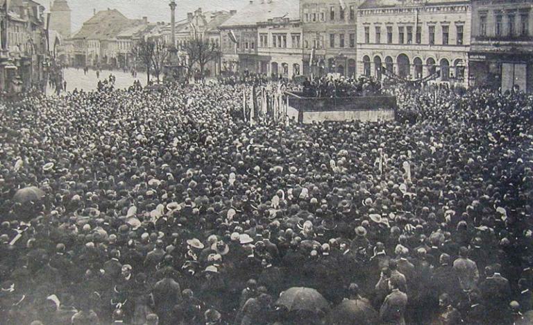Statistiky stávek v době vzniku samostatné Československé republiky