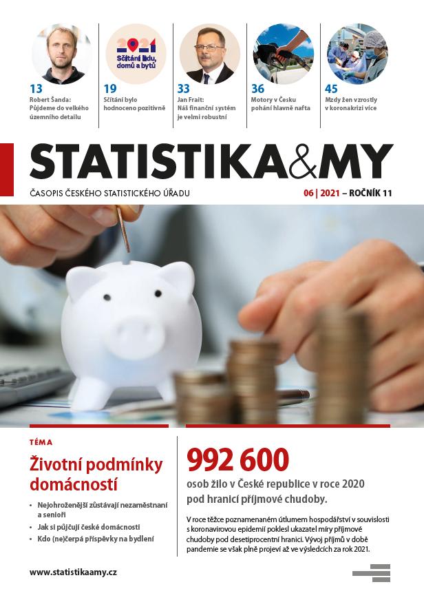 titulní strana časopisu Statistika&My 06/2021